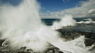 GIANT WAVE Snatch US COUPLE from LAND into OCEAN 1 Dead Sep.19,2012. Prediction