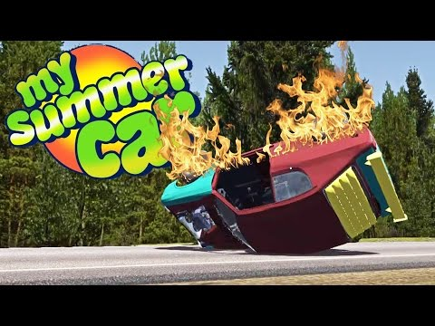 CAR STRESS TEST! Running Without Oil, Blowing the Engine - My Summer Car Gameplay Highlights Ep 24