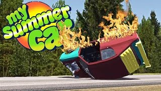 car stress test running without oil blowing the engine my summer car gameplay highlights ep 24
