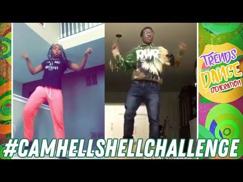 Hell Shell Challenge Dance Compilation #CamHellShellChallenge #trendsdance