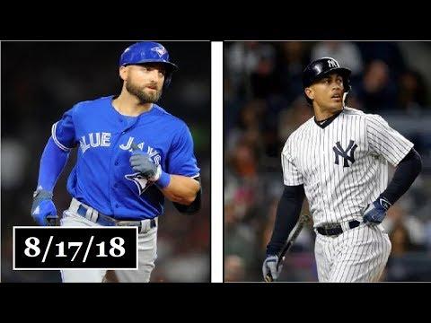 Toronto Blue Jays vs New York Yankees Highlights || August 17, 2018