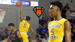#1 Sophomore RJ Barrett is a MAN AMONGST BOYS!! | Montverde Academy Highlights