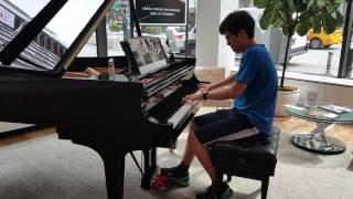 playing Ravel at Steinway Hall & updates