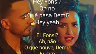 Luis Fonsi - Échame La Culpa - feat. Demi Lovato - Letra e Tradução