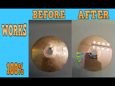 How To Fix Any Scratched Or Cracked Disc *WORKS 100%*