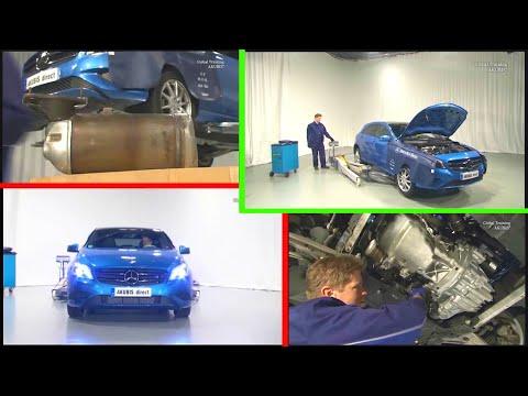 Mercedes Benz — Remove/install diesel particulate filter  OM 607