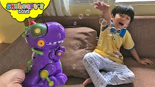 Singing and BUBBLE DINOSAUR for toddlers - DigiDinos Little Live Pets Children toys kids