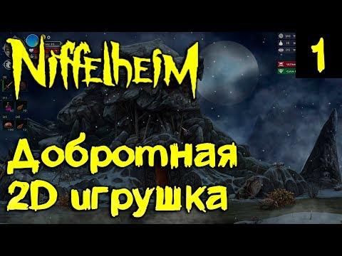 Niffelheim - обзор и первый взгляд на интересную 2d ролевую игру с элементами выживания #1