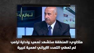 ملكاوي: المنطقة ستشهد تصعيد وادارة ترامب لم تعطي التمدد الايراني اهمية كبيرة - نبض البلد