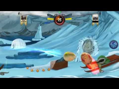 Egg Fight iOS Mobile Game Trailer