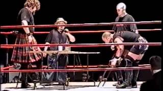 Duke MacIsaac vs Custom Made Man - Hardcore Match - RAW - Oct 20th 2001