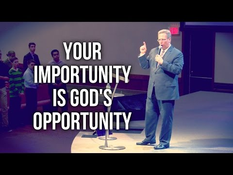"""Your Importunity is God's Opportunity"" – Pastor Raymond Woodward"