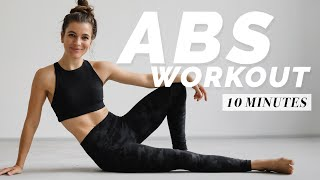 10 Minute Abs Home Workout  | This is Intense 🔥🔥🔥 | So trainiere ich effektiv meinen Bauch | DAY 3