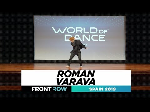 ROMAN VARAVA  | FRONTROW | UPPER | World Of Dance Spain 2019 | #SPAIN
