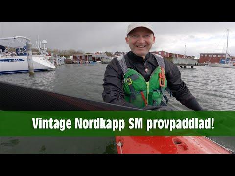 Vintage Nordkapp SM provpaddlad.