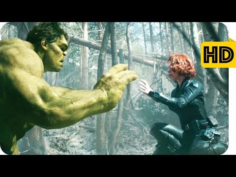 Natasha And Hulk Memorable Scenes-Avengers Age Of Ultron-Tamil Dubbed