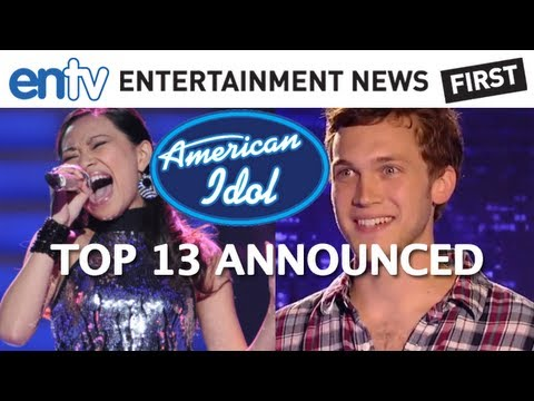 AMERICAN IDOL JESSICA SANCHEZ: Top 13 Phillip Phillips and Wild Cards Revealed: ENTV