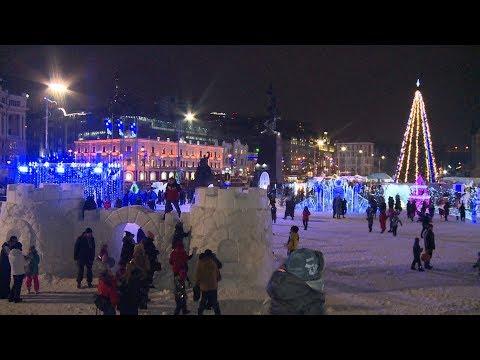 Владивосток готовится встречать Новый 2020 год