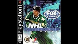 NHL Championship 2000 (PlayStation) (1999)