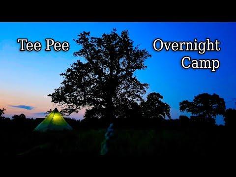 Ozark Trail 8 Man Tee Pee - Overnight Camp