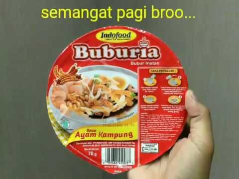 Indofood Buburia #Indonesia #sarapan #sehat #Pekanbaru