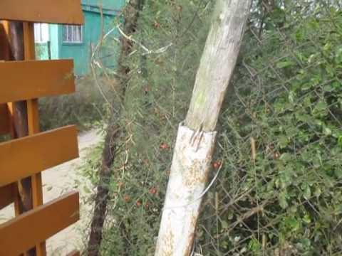 Деревянный забор - плетенка своими руками