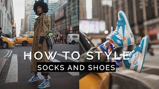 HOW TO STYLE: Socks & Shoes || Fall Outfits