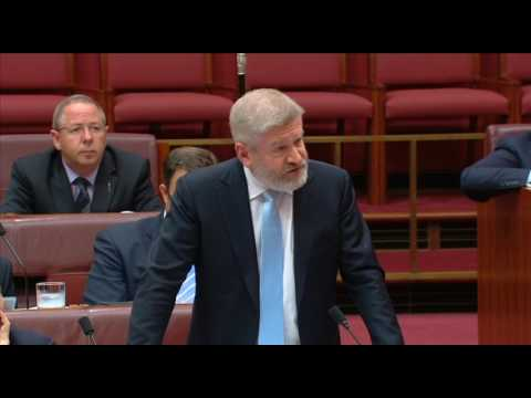 Senator Paterson asks Mitch Fifield about Australia Post exe