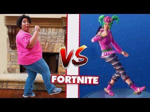 MOM VS DAD FORTNITE DANCE CHALLENGE PART 2! All NEW Dances SEASON 4!