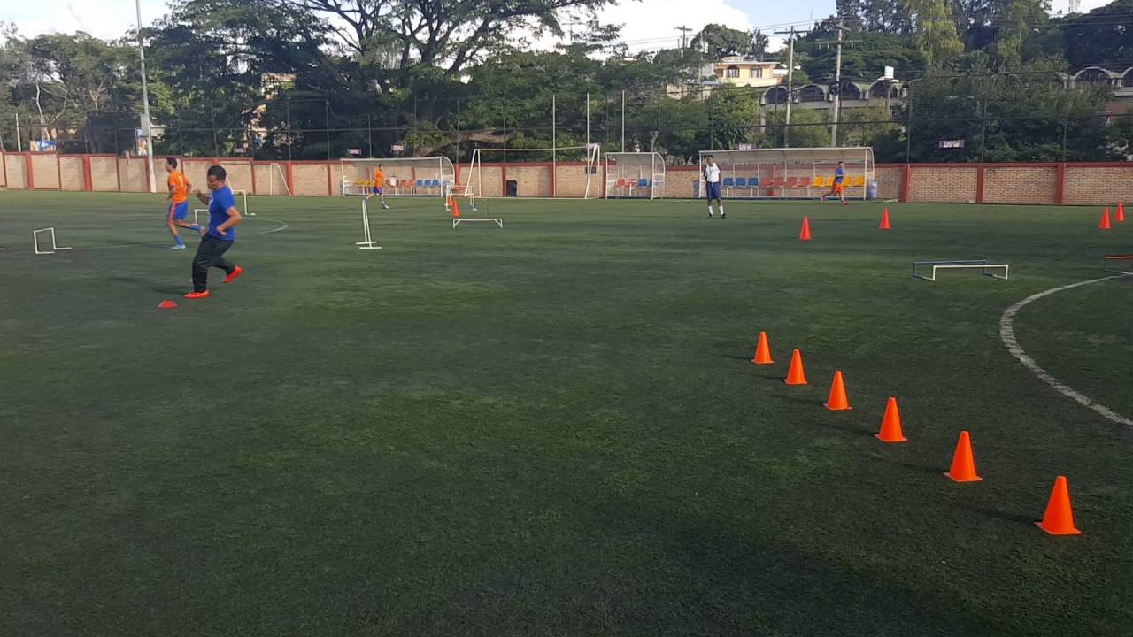 Circuito Tecnico Futbol : Circuito físico técnico futbol youtube