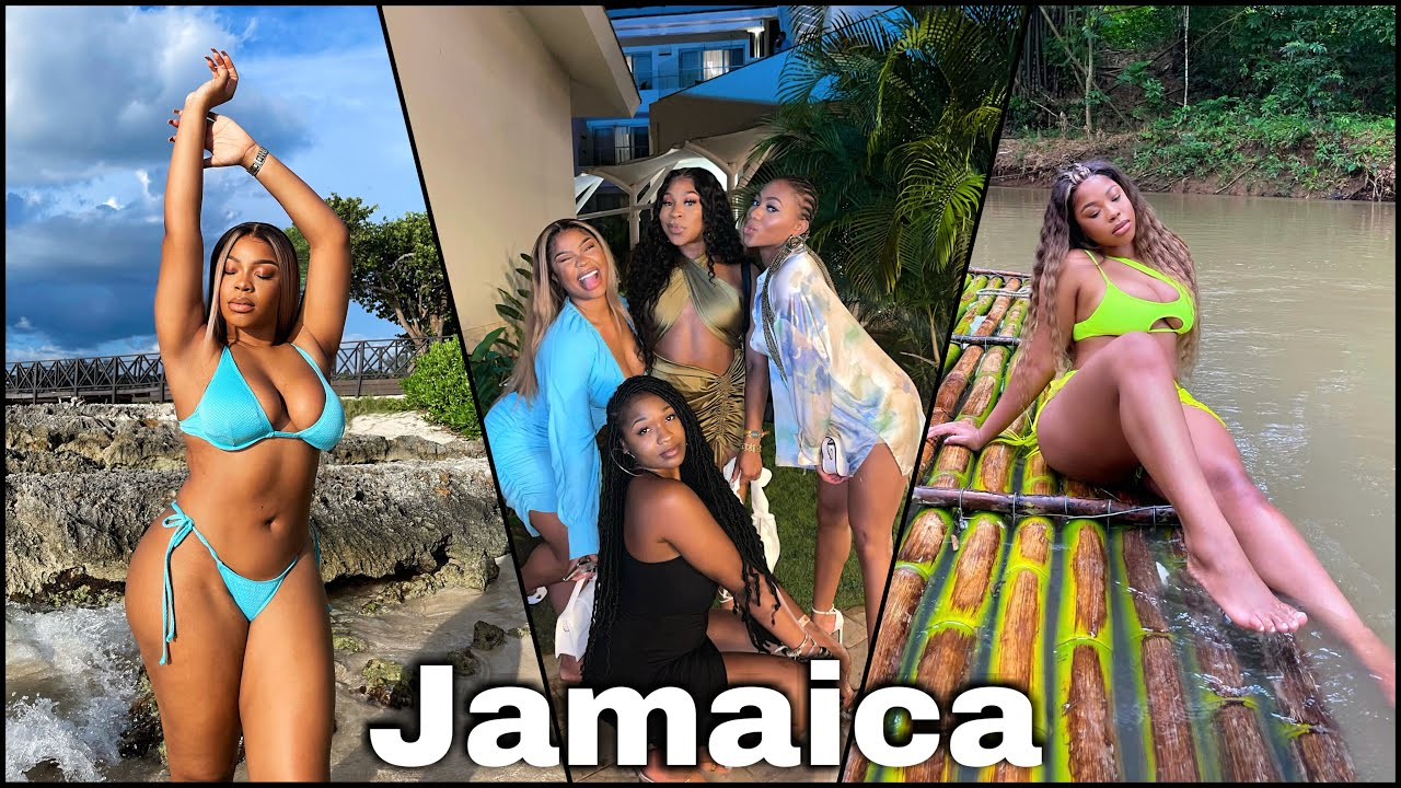 JAMAICA TRAVEL VLOG! Luxury Girls Trip, Bamboo Rafting, Zip lining in Negril