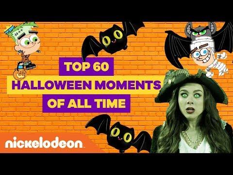 Top 60 Halloween Moments 👻 w/ JoJo Siwa, SpongeBob SquarePants, Henry Danger & More! | Nick