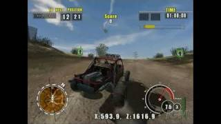 ATV Offroad Fury 4 PlayStation 2 Gameplay - Buggy action
