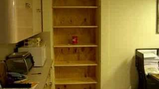 Secret Bookshelf Door Part 2