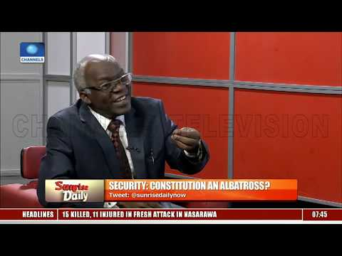 National Assembly Is Toying With Nigeria's Security, Says Falana
