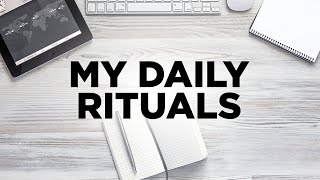 My Daily Rituals - Cardone Zone