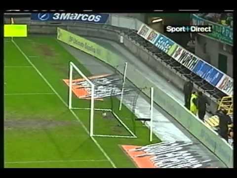 Sporting - 0 x Sochaux - 1 de 2004/2005 Uefa fase grupos D