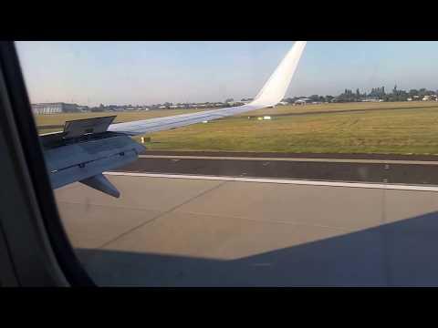 Landing at Ferenc Liszt International Airport, Budapest