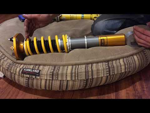 FPSpec Long Travel Ohlins coilovers ride height adjustment