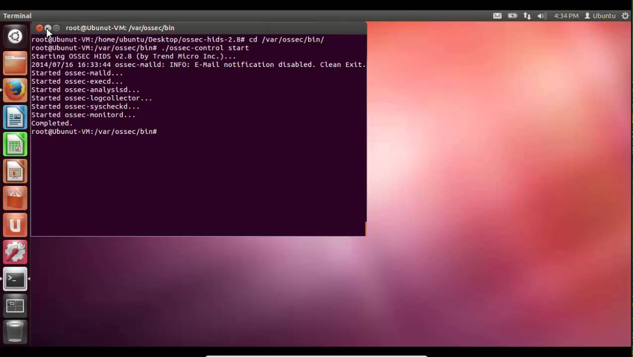 OSSEC Installation on Ubuntu (with Web interface)