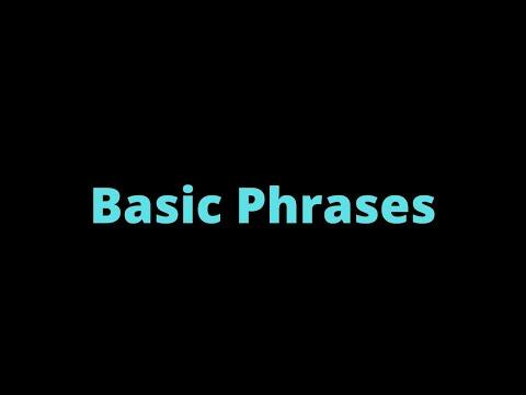(7) Basic Phrases | Samoan