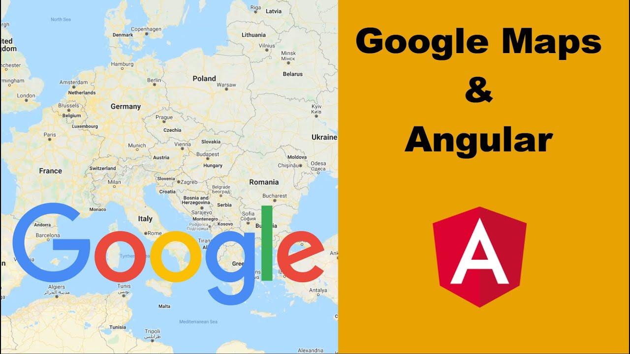 Google Maps & Angular Tutorial - Quickstart Using the Google Maps Javascript API