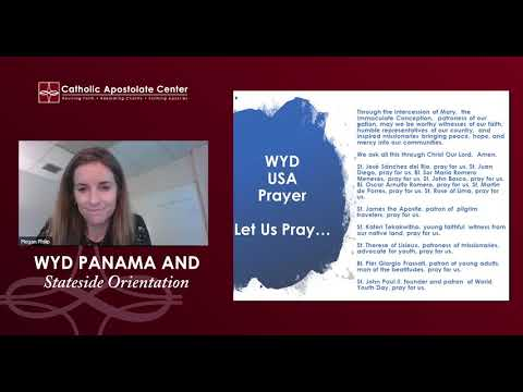 WYD Panama and Stateside 2019 Orientation