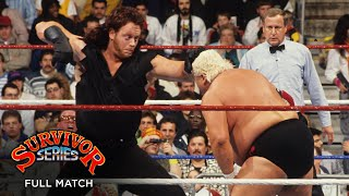 FULL MATCH - The Million Dollar Team vs. The Dream Team: WWE Survivor Series 1990