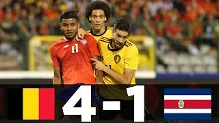 Belgium vs Costa Rica| 4- 1 | All Goals Highlights | 12/06/2018 [HD]