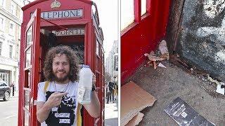 ¿En realidad estos teléfonos parecen BASUREROS? | Londres