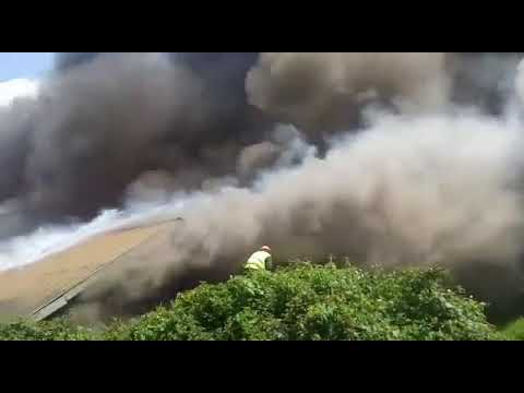 University  of Nairobi hostels on fire