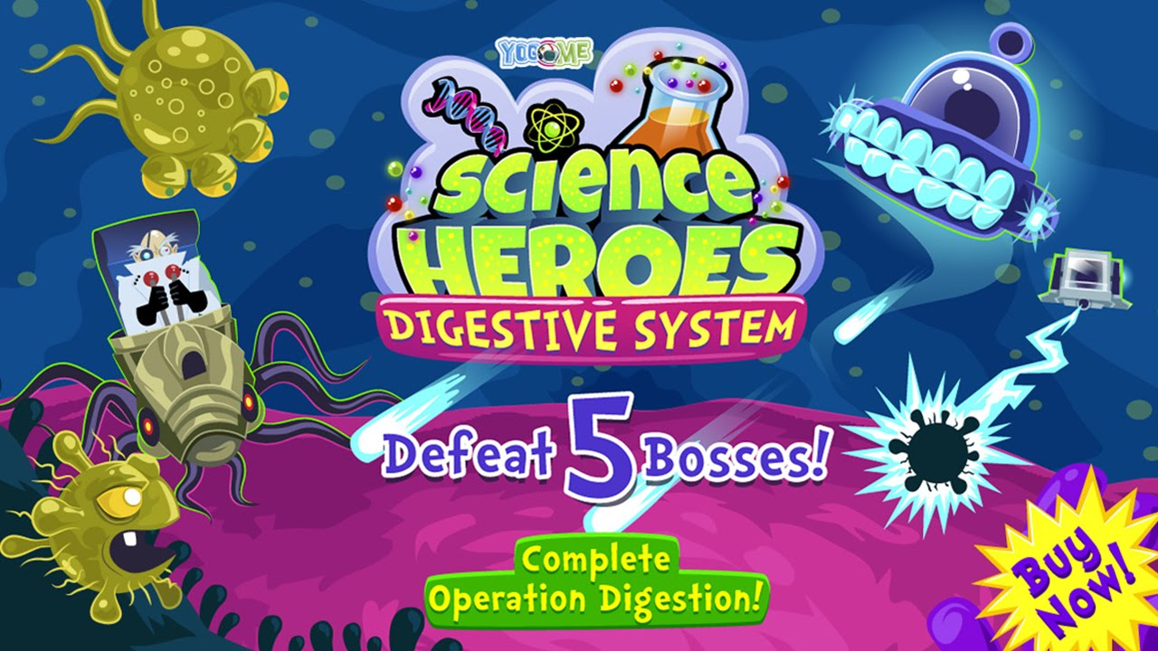 Science Heroes: Digestive System for Kids - Best App For Kids ...