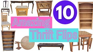 10 Amazing DIY Thrift Flip Furniture Makeovers That Will Inspire You