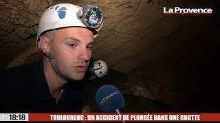 Toulourenc : un accident de plongée dans un grotte